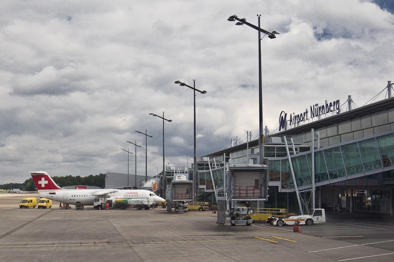 Terminal Flughafen Nürnberg