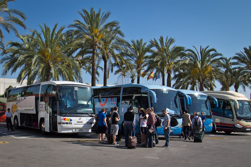 Transferbus Tui zum Hotel auf Mallorca