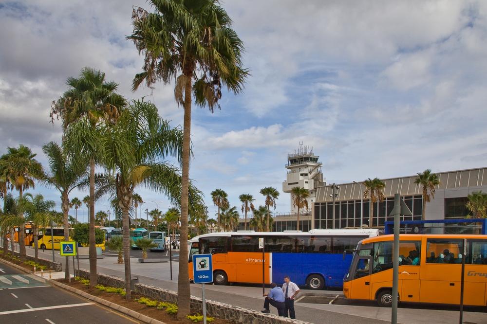 Pauschalreise Teneriffa Süd Flughafen Reisebusse