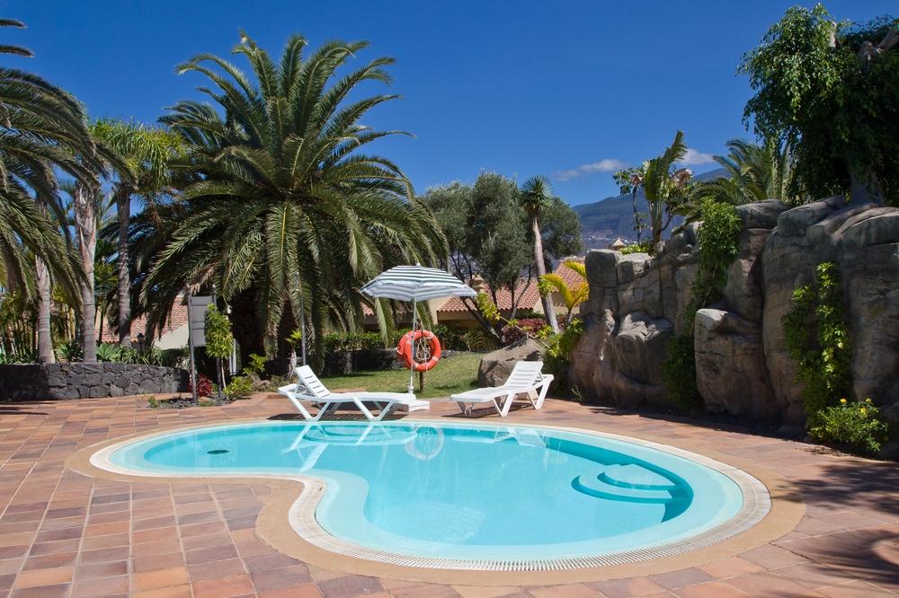 Teneriffa Hotel Kinderpool Ferienwohnung Pauschalreise Urlaub