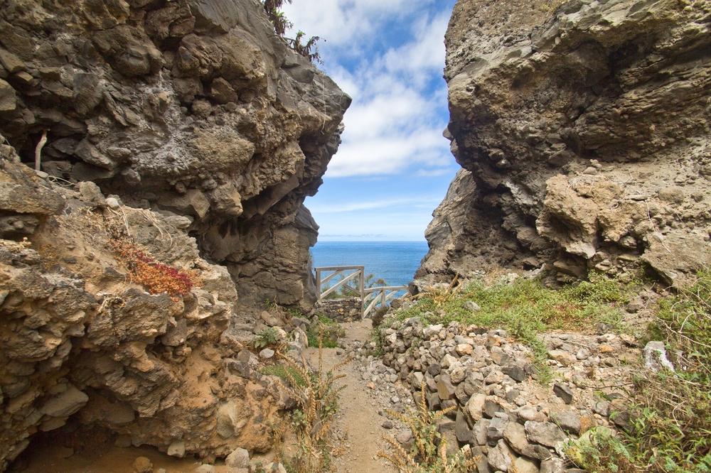 Teneriffa Teide Playa de los Roques Los Realejos Urlaub Reise