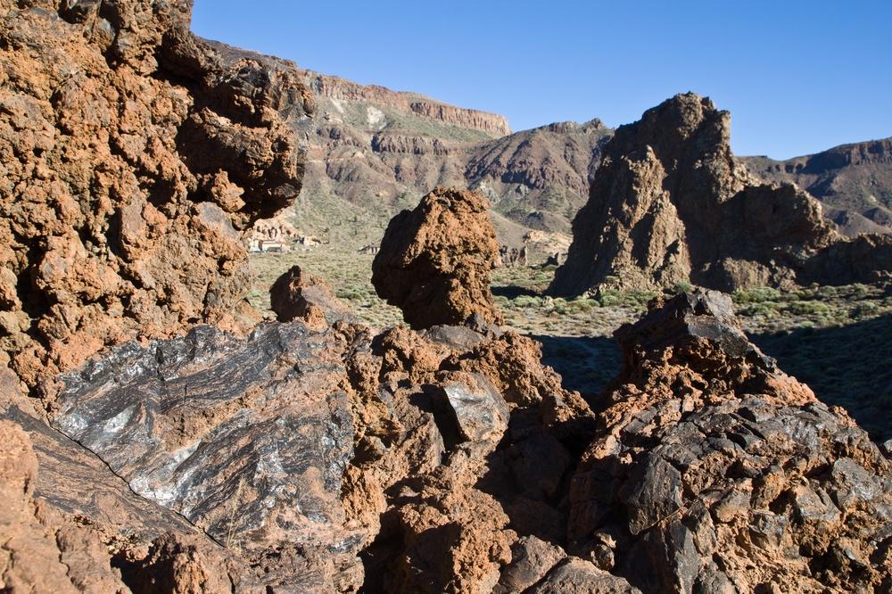Teneriffa Teide roque cinchado Aussichtspunkt Urlaub Reise
