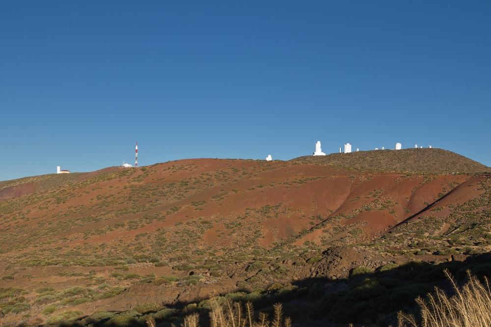 Teneriffa Teide Wolken Observatorio del Teide Milchstraße Urlaub Reise