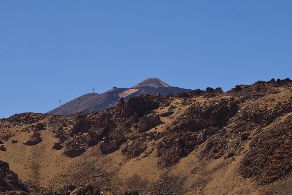 Teneriffa Teide Vulkan Seilbahn Gondel Lift Urlaub Reise