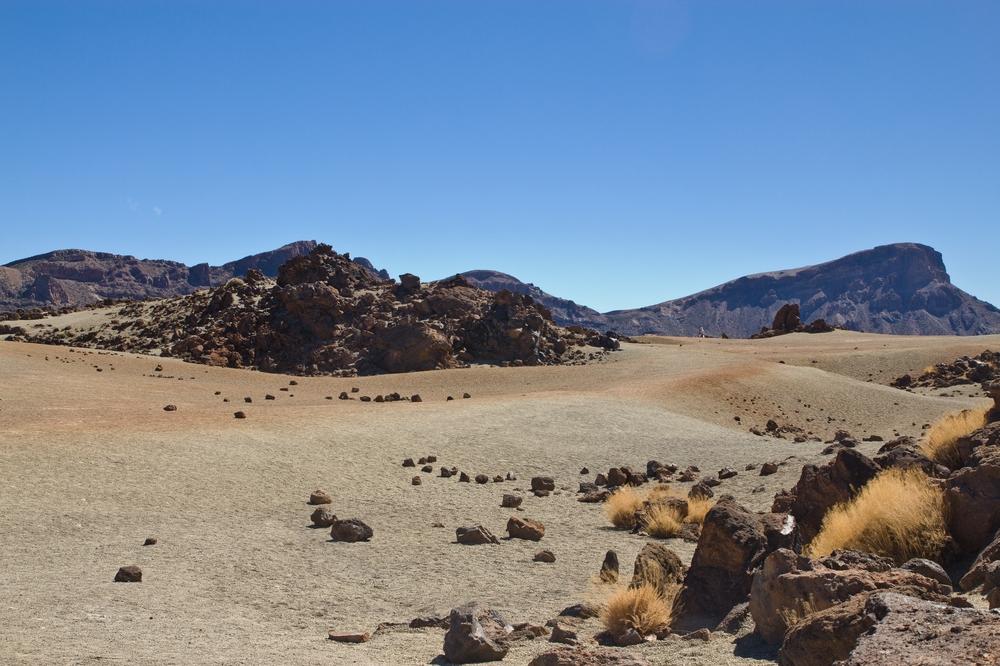 Teneriffa Teide Vulkan Gestein Mietwagen Urlaub Reise