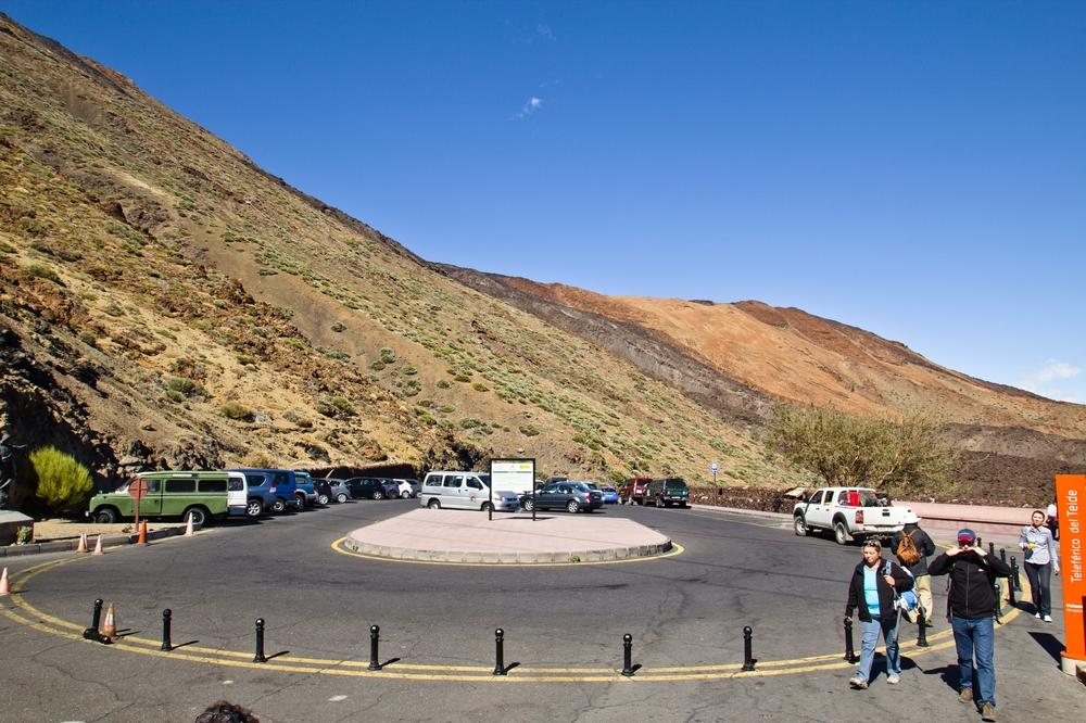 Teneriffa Teide Vulkan Seilbahn Talstation Urlaub Reise