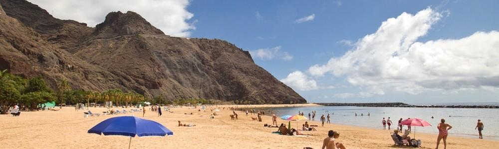 Teneriffa Urlaub Reise Las Teresitas Strand San Andres