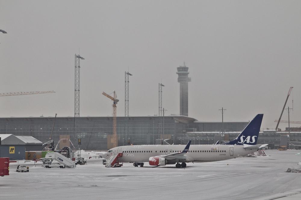 Reisebericht Oslo - Tower am Flughafen Gardermoen