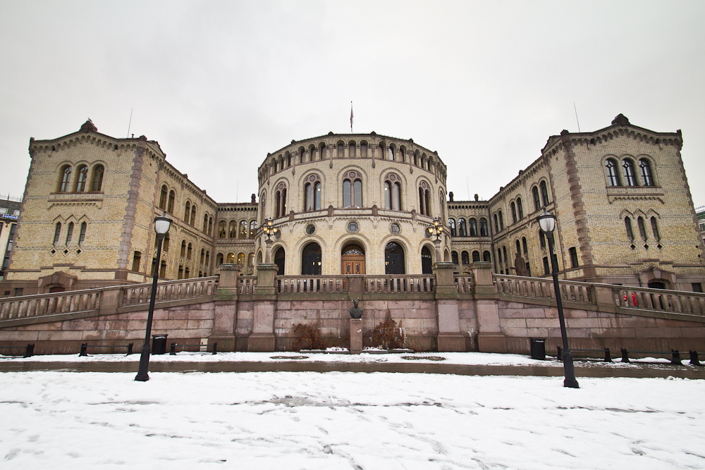 Parlament Stortinget in Oslo