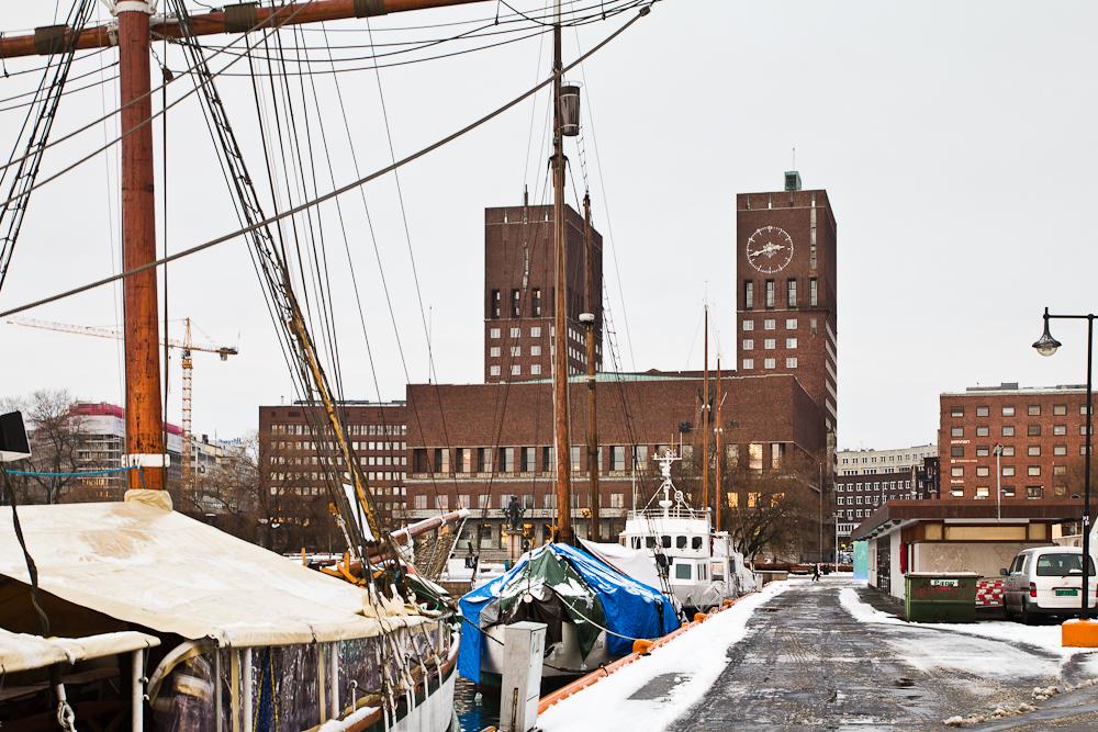 Rathaus vom Oslo (Friedensnobelpreis)