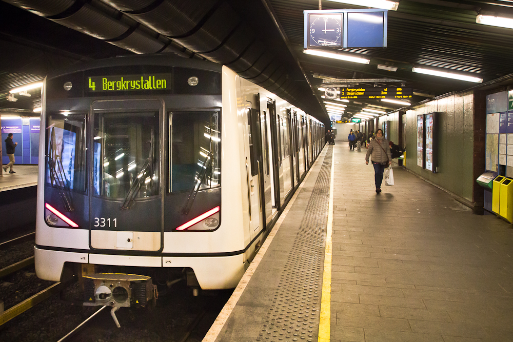 T Bane Oslo UBahn Metro
