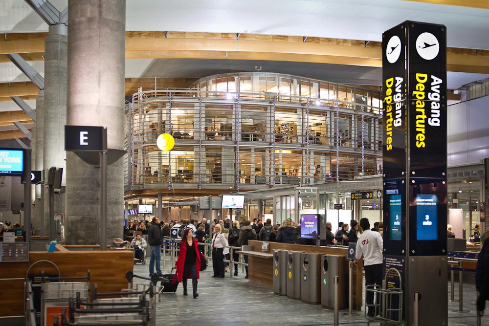 Terminal Flughafen Oslo Gardermoen