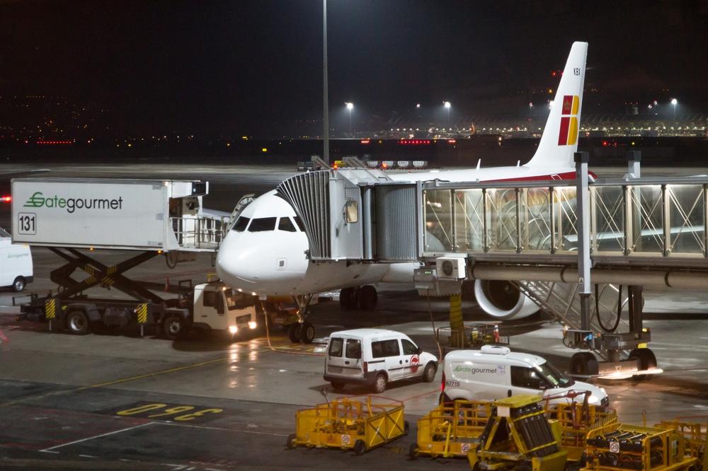 Iberia Airbus alte Lackierung
