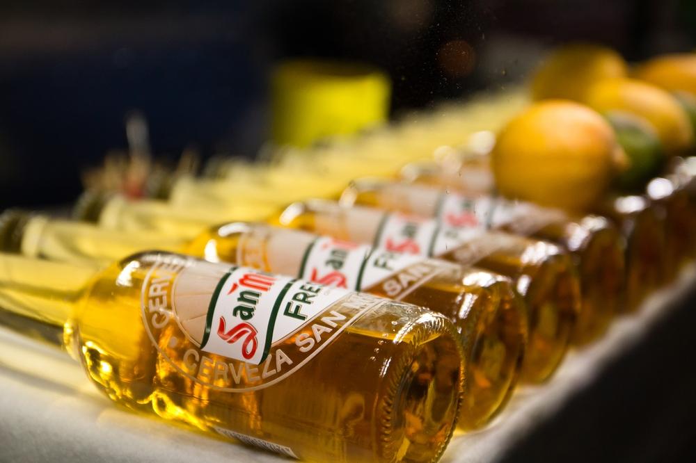 Bier im Mercado San Miguel Madrid