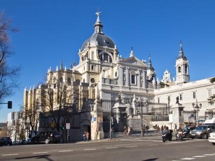 Kathedrale Madrid Santa María la Real de La Almudena