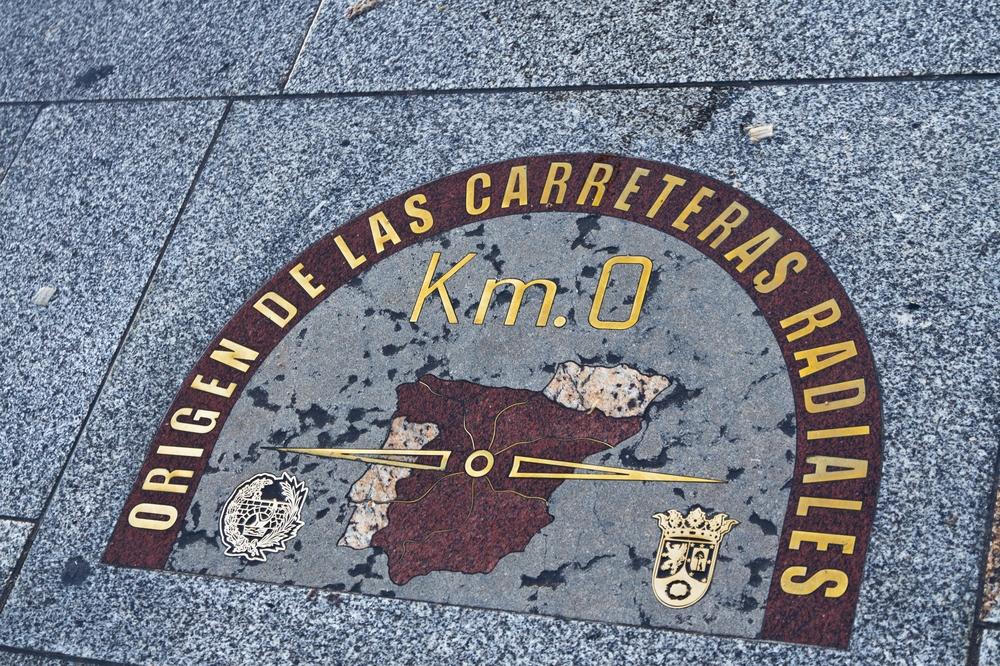 Kilómetro Cero Madrid Puerto del Sol