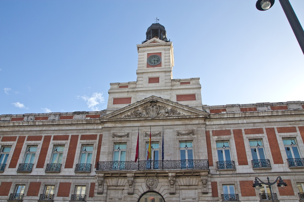 Casa de Correos Puerto del Sol Madrid