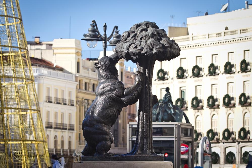 el oso y el madroño, Bär mit Erdbeerbaum, Madrid