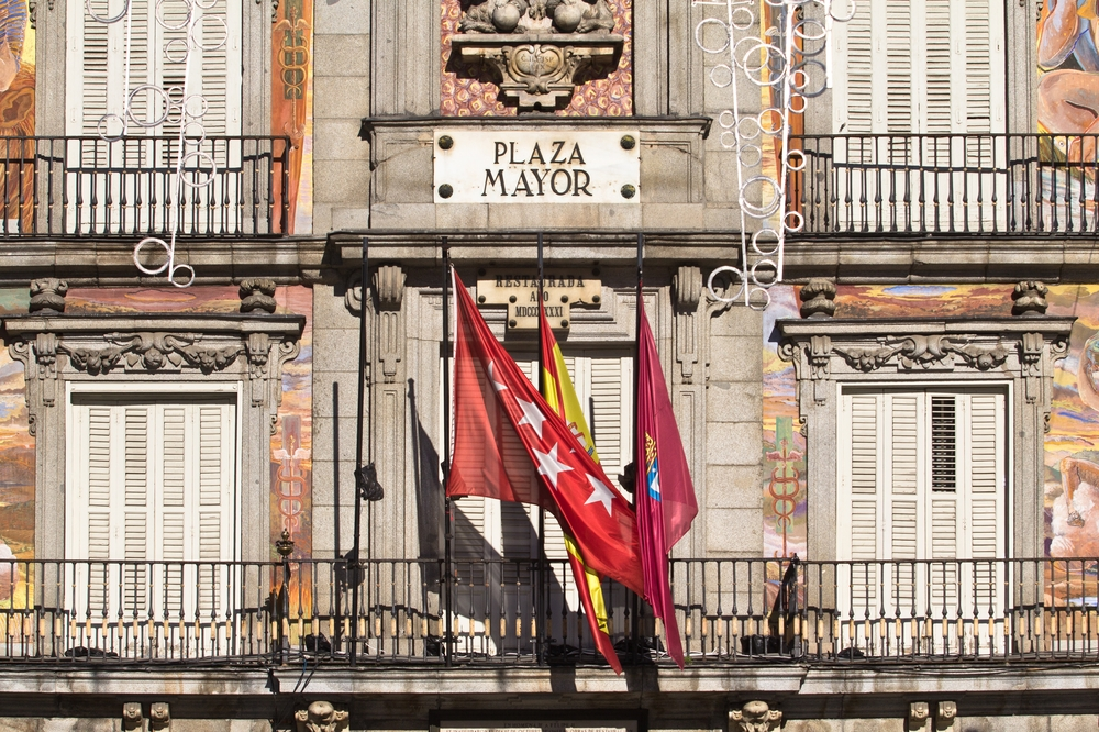 Plaza Mayor, madrid de los austrias