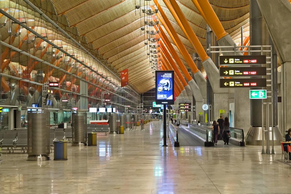 Reisebericht Flughafen Madrid Barajas Terminal 4