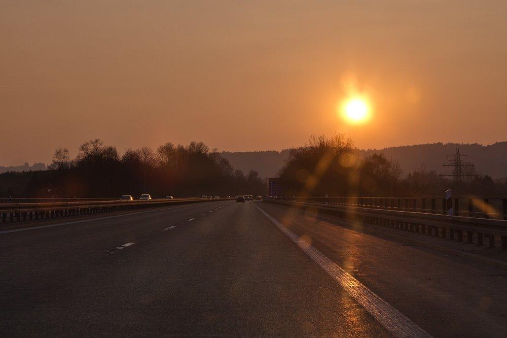 Autobahn Allgäu Kempten