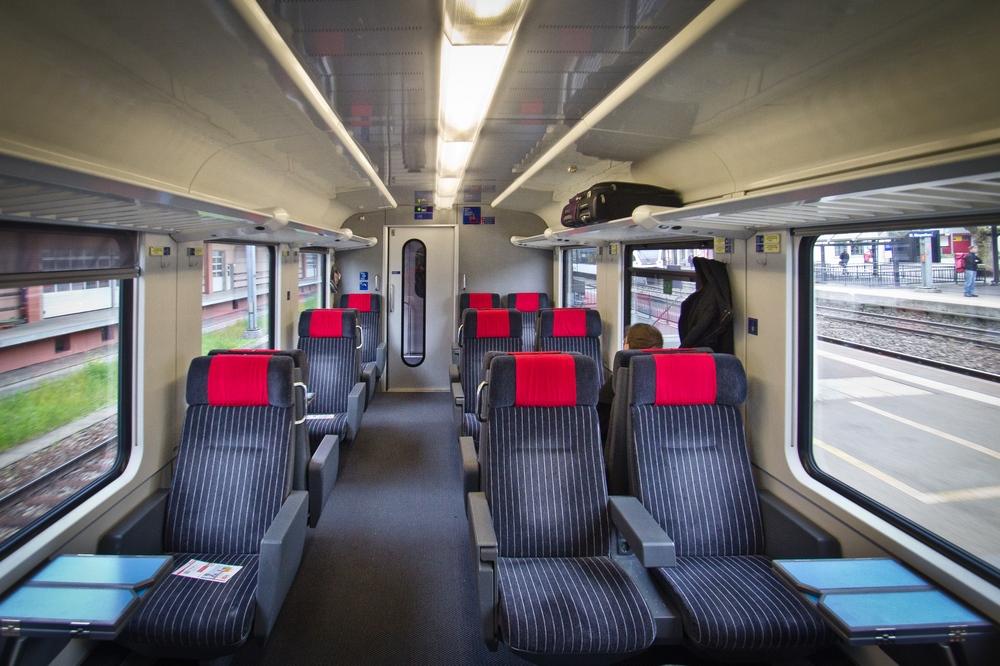 Zugfahren Schweiz 1. Klasse SBB Zürich Bern Thun