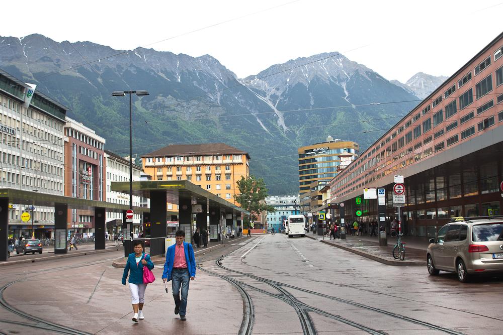 Innsbruck Österreich Innenstadt