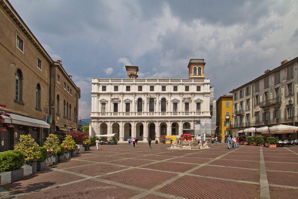 "Bergamo Biblioteca Civica ""Angelo Mai"""