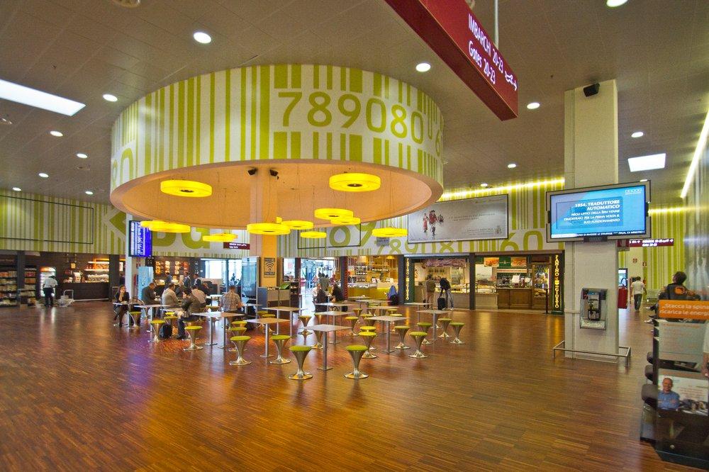 Inside Terminal Flughafen Bergamo Airport