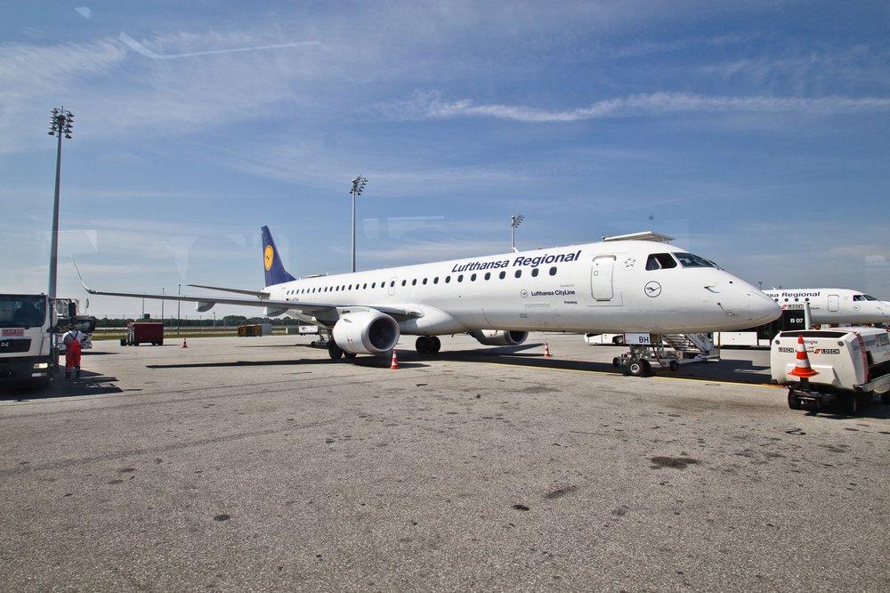 Flughafen München Munich Airport Apron