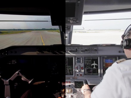 HDR Video Jumpseat Cockpit