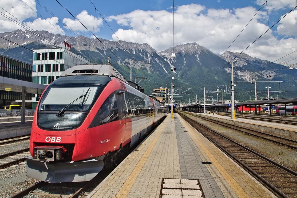 Hauptbahnhof Innsbruck München Verona