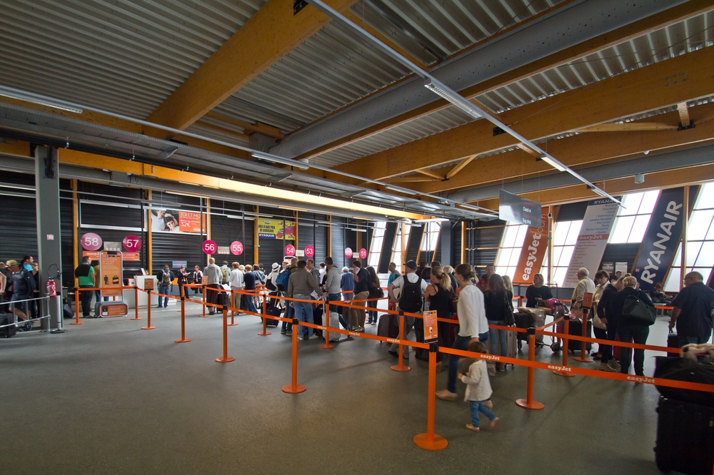 billi Terminal Flughafen Bordeaux