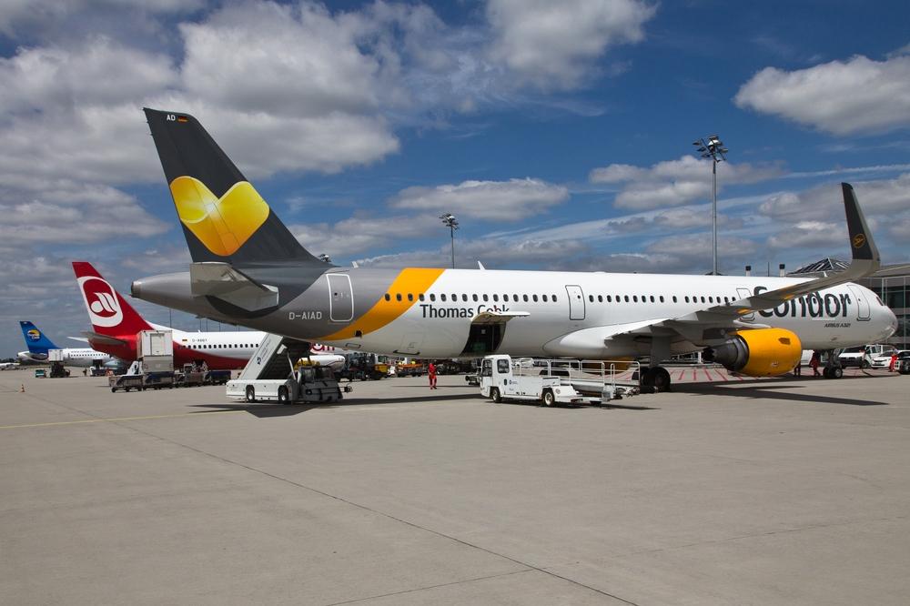Condor Flughafen Leipzig