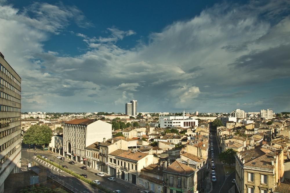 Überblick Stadt Bordeaux