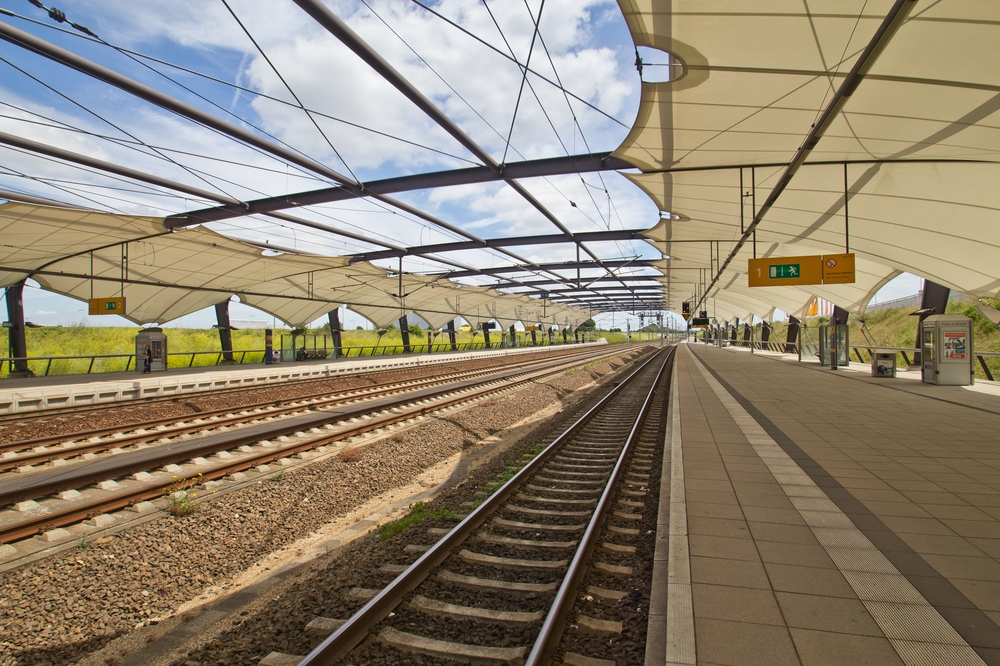 Flughafen Bahnhof Leipzig