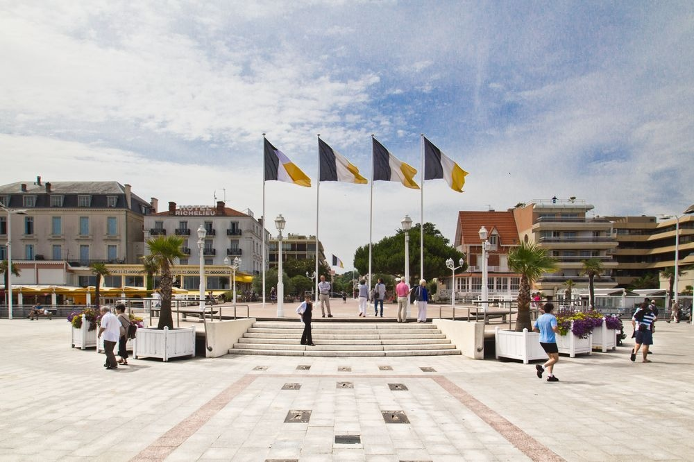Strandpromenade von Arcachon
