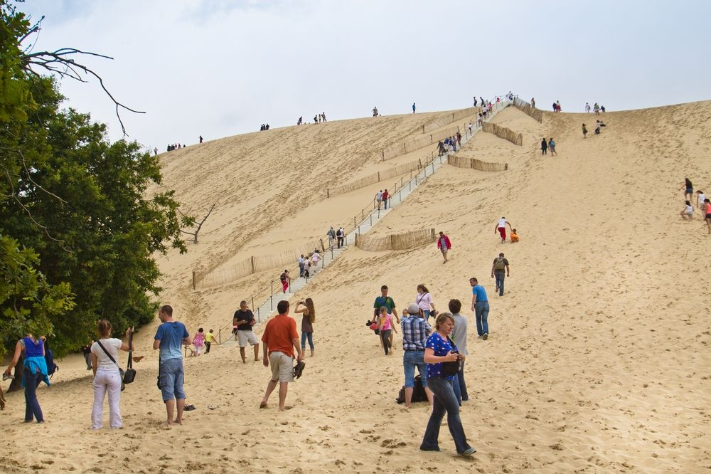 Treppe Dune de Pilat