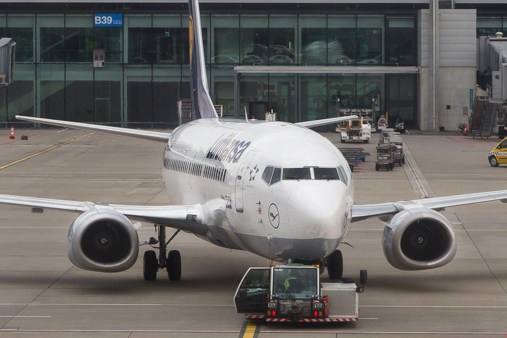 Boeing 737 Lufthansa Flughafen Zürich
