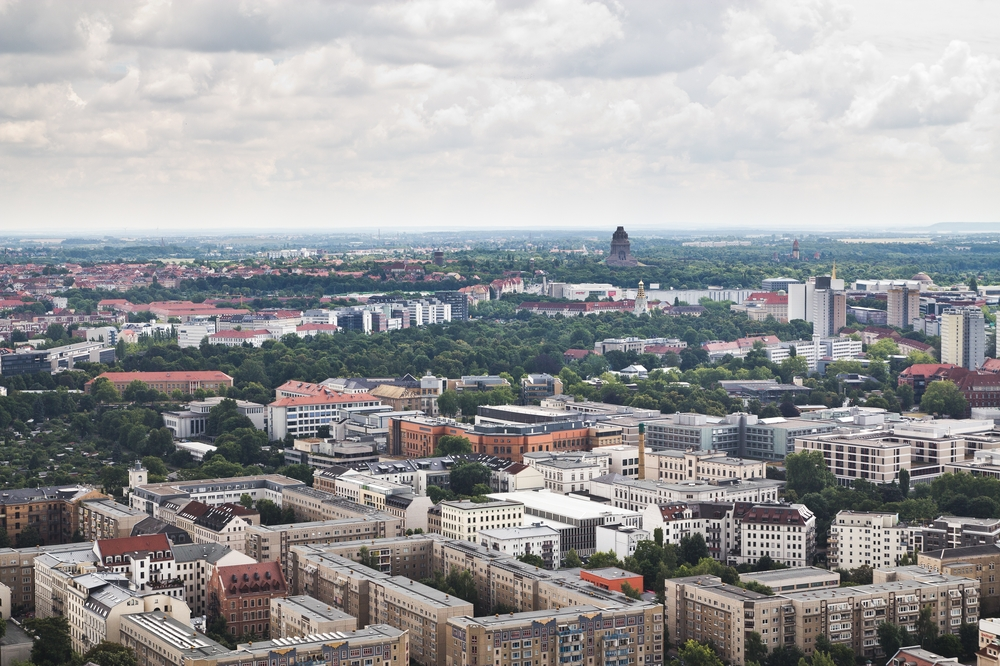 Aussicht City Hochhaus Leipzig