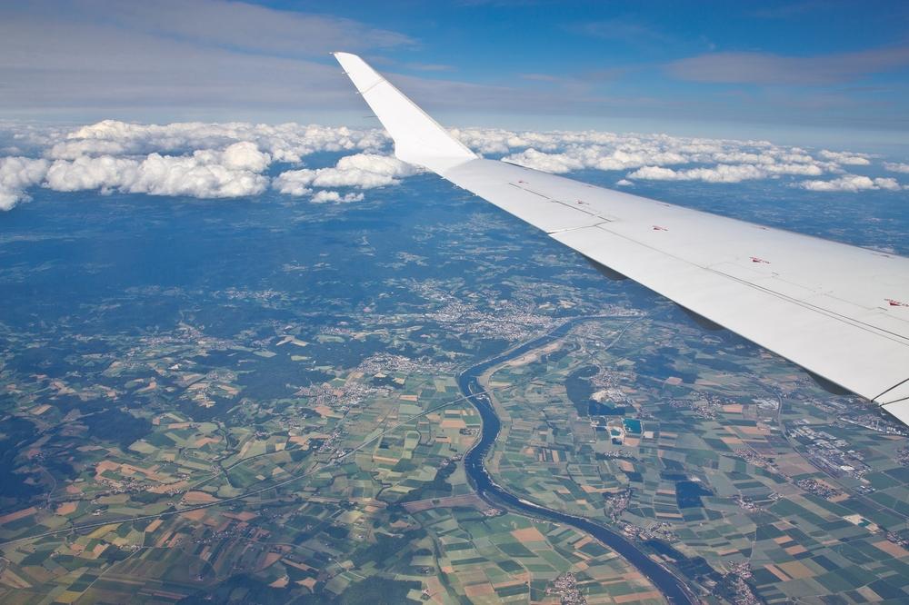 Luftbild Leipzig Flughafen Merseburg