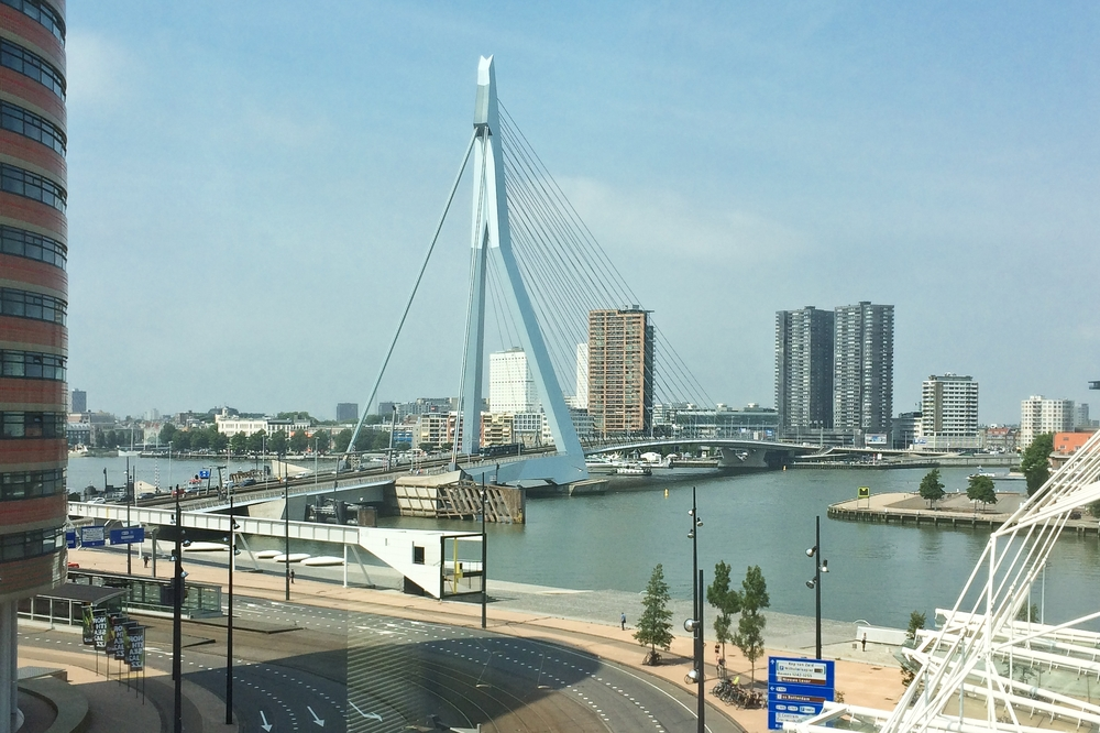 Erasmusbrücke Rotterdam Sehenswürdigkeiten