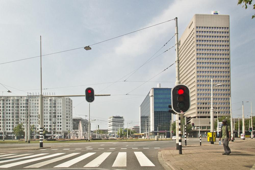 Hofplein Brunnen Rotterdam