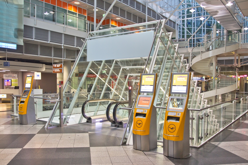 Flughafen München Airport Zentralbereich