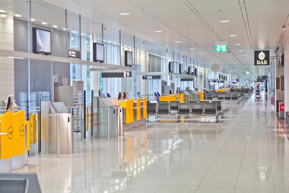 Terminal 2 Airside Flughafen München Airport