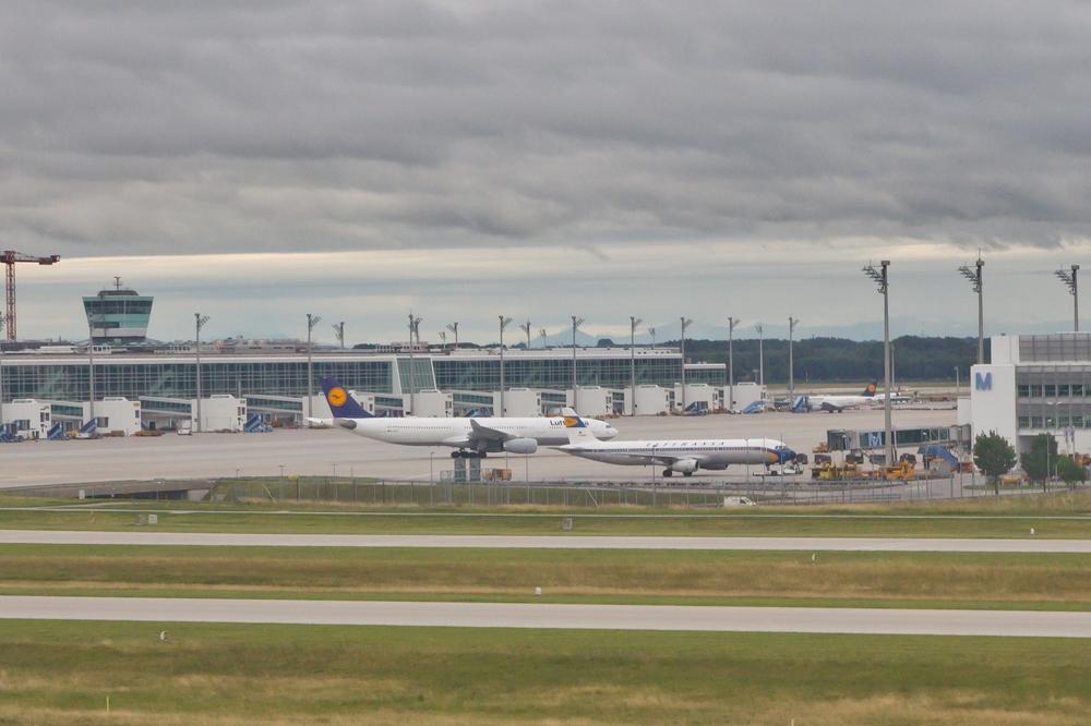 Lufthansa Retrojet D-AIRX Flughafen München Airport