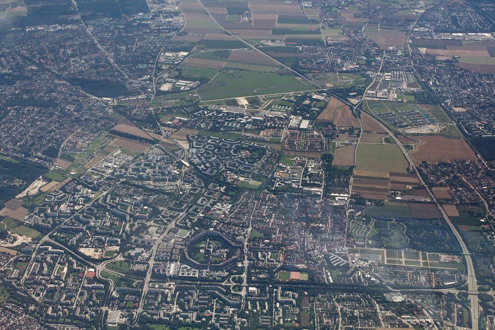 Neuperlach München Ramersdorf Luftbild
