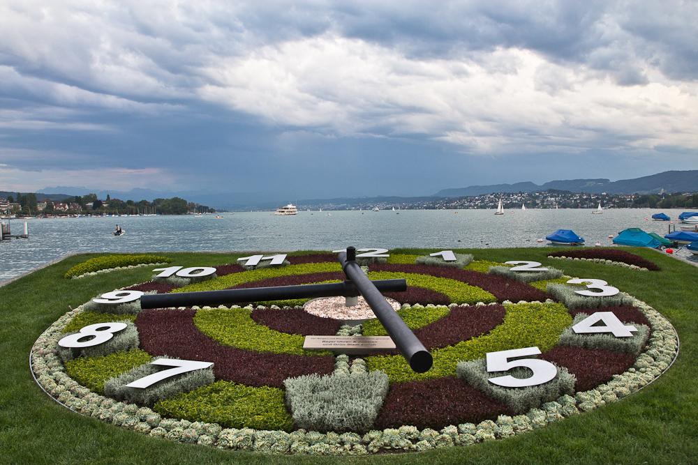 Uhr Zürichsee Zürich