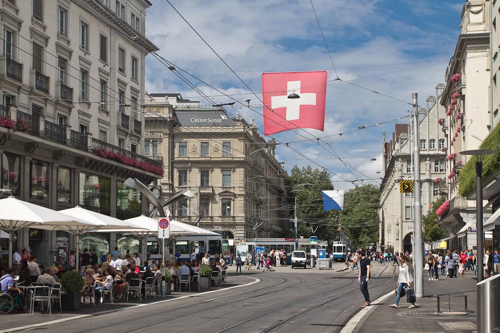 Zürich Innenstadt Bahnhofstraße