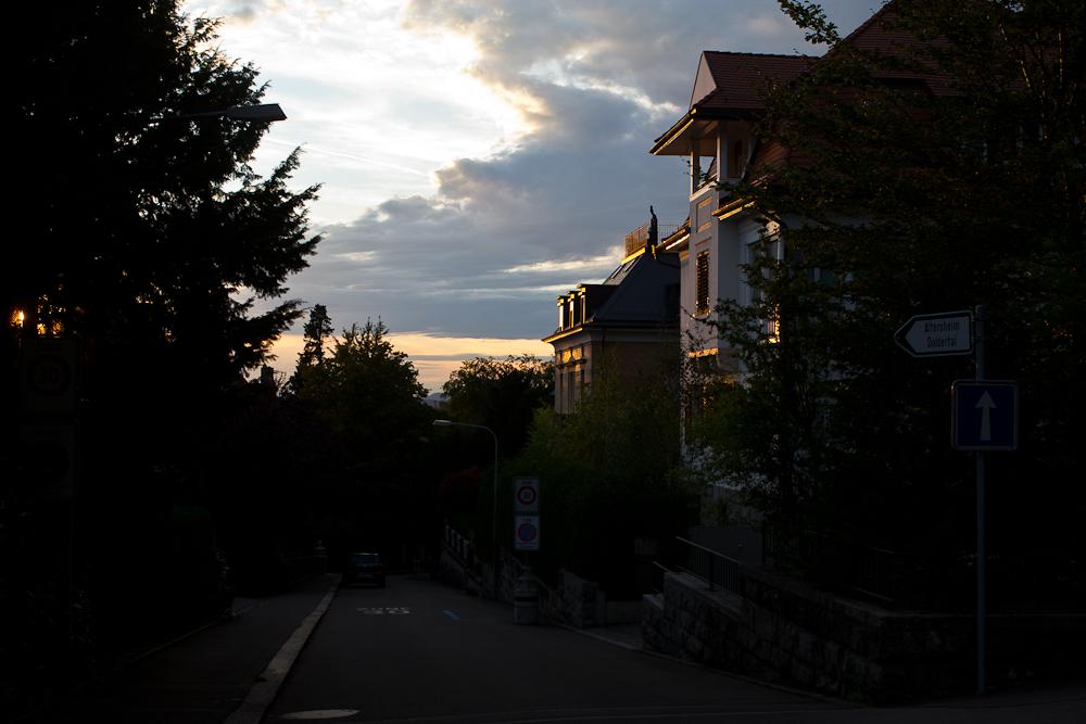 Sonnenuntergang Zürich Dolder
